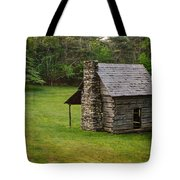 Cabin On The Blue Ridge Parkway - 4 Tote Bag