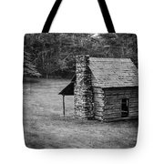 Cabin On The Blue Ridge Parkway - 5 Tote Bag