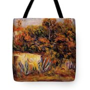 Cabin With Aloe Plants Tote Bag