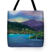 Cabins On The Lake Tote Bag