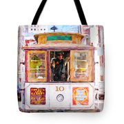 Cable Car No. 10 Tote Bag