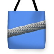 Cable Tote Bag