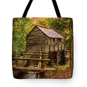 Cable Mill Cades Cove Smoky Mountains Tennessee In Autumn Tote Bag