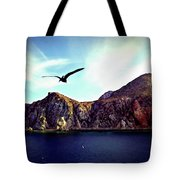 Cabo And The Cliffs Tote Bag