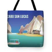 Cabo San Lucas Mexico Horizontal Scene Tote Bag