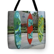 Cabo Surfboard Sculpture 1 Tote Bag