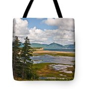 Cabot Trail In Nova Scotia Tote Bag