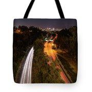 Cabrillo To Downtown Tote Bag