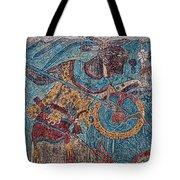 Cacaxtla Warrior I Tote Bag