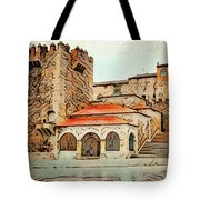 Caceres Spain Artistic Tote Bag