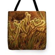 Cacti Family Reunion Tote Bag