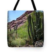 Cacti Garden Tote Bag