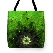 Cactus Abstract Tote Bag