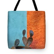 Cactus And Colorful Wall Tote Bag
