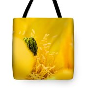 Cactus Blossom Up Close And Personal Tote Bag