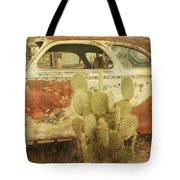 Cactus Car Tote Bag