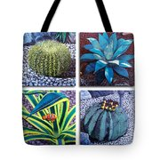 Cactus Close Ups Tote Bag