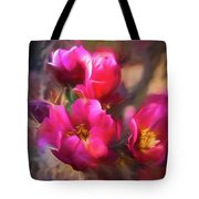 Cactus Flower 07-002 Tote Bag