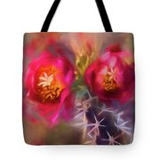 Cactus Flower 07-003 Tote Bag