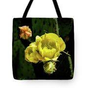 Cactus Flower 07-010 Tote Bag