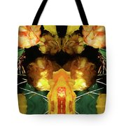 Cactus Flower 08-005 Abstract Tote Bag