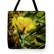Cactus Flower H28 Tote Bag