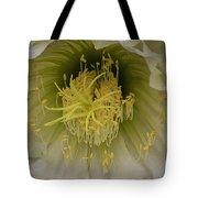 Cactus Flower Macro Tote Bag
