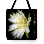 Cactus Flower Tote Bag