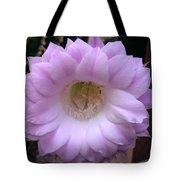 Cactus Flower Purple Tote Bag