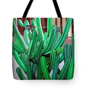 Cactus Fly By Tote Bag