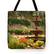 Cactus Fountain Tote Bag