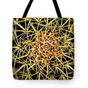 Cactus From Top Tote Bag