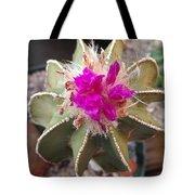 Cactus In Flower Tote Bag