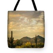 Cactus Morning Tote Bag