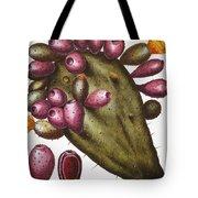 Cactus: Opuntia, 1613 Tote Bag