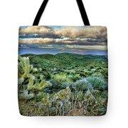 Cactus Rabbit Tote Bag