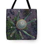 Cactus, Saguaro Long Armed Tote Bag