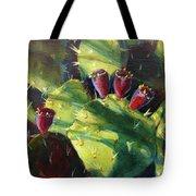 Cactus Shadows Tote Bag