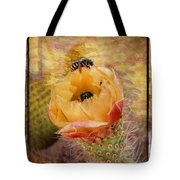 Cactus Spring Beauty W Frame Tote Bag