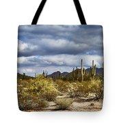 Cactus Valley Tote Bag