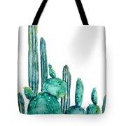 Cactus Watercolor 1 Tote Bag