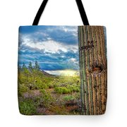 Cactus With Teeth Tote Bag