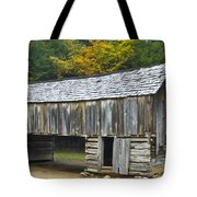 Cades Cove Barn Tote Bag