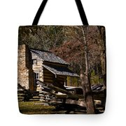 Cades Cove Cabin Tote Bag