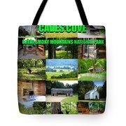 Cades Cove Collage Tote Bag