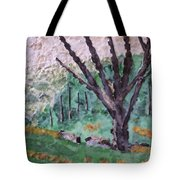 Cades Cove Meadow Tote Bag
