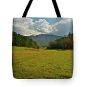 Cades Cove Pasture Tote Bag
