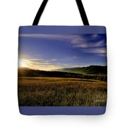 Cades Cove Sunrise Tote Bag
