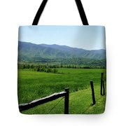 Cades Cove View Tote Bag
