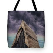 Cadet Chapel At The United States Air Force Academy Tote Bag